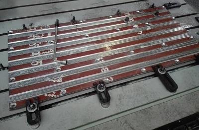 Комплект изделий для установки брикетирования отходов лома